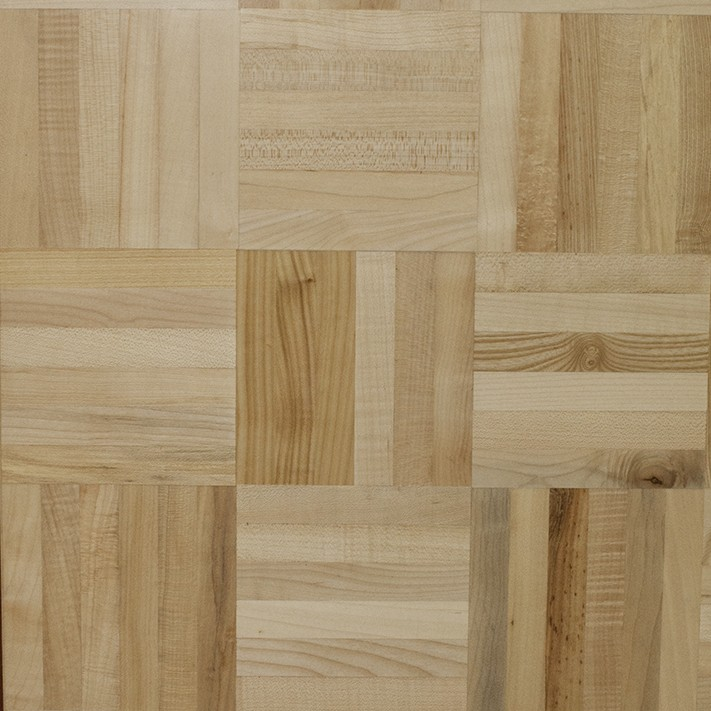 Maple 6-Finger Mosaic Parquetry Swatch